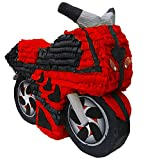 Red Motorcycle Pinata