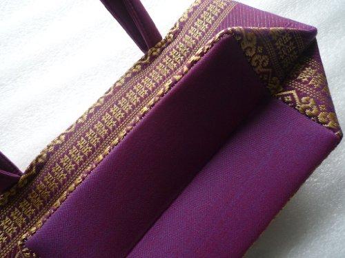 Ariyas Mujer Small Asas Violeta Thaishop Para Morado Bolso De rwXrq8Av