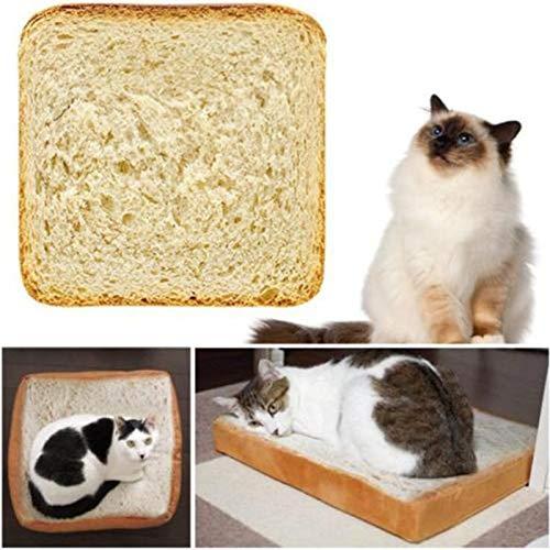 Decorative Pillows - Simulation Bread Slices Cat Plush Toy