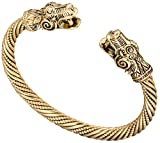 Antique Gold Dragon Viking Bracelets&Bangle Carter Love Bracelet Pagan Jewellery Accessories