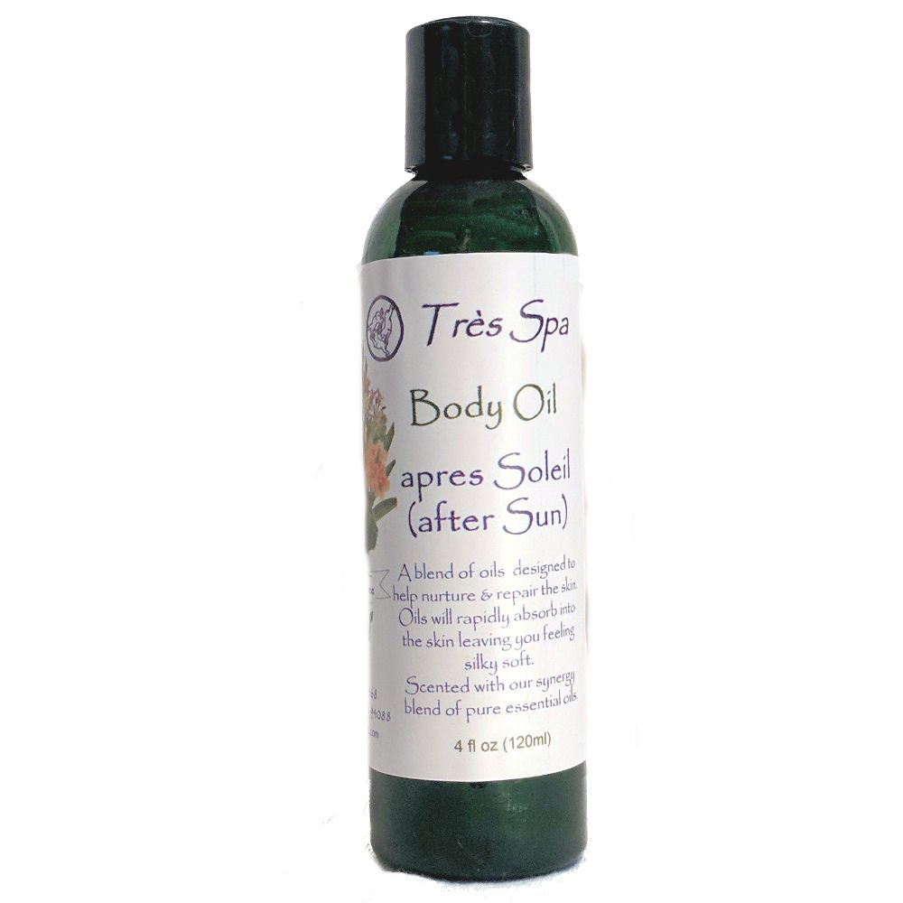 0f1782fc1a1 Amazon.com : Très Spa apres Soliel (after Sun) Body Oil- with Organic  Avacado, Coconut, Kukui nut and Seed oils : Beauty