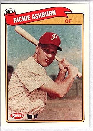 2015 Topps Update Baseball Whatever Works WW-9 Richie Ashburn Phillies