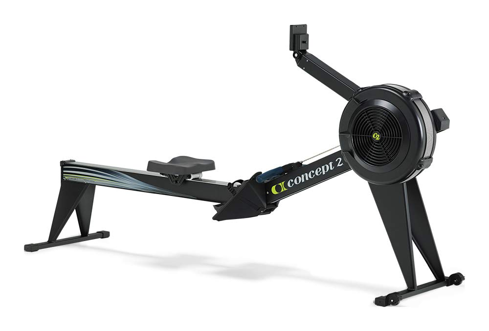 Concept2 Model E with PM5 Performance Monitor Indoor Rower Rowing Machine Black by Concept2 (Image #1)