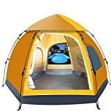 OHOJIDA 5-6 People Waterproof Automatic Outdoor Instant Pop Up Tent Camping Hiking Tent