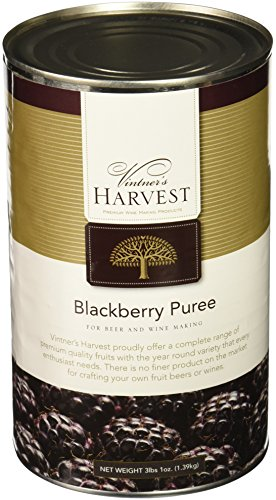 Blackberry Puree (Vintner's Harvest Fruit Puree - Blackberry 3LB 1 oz)