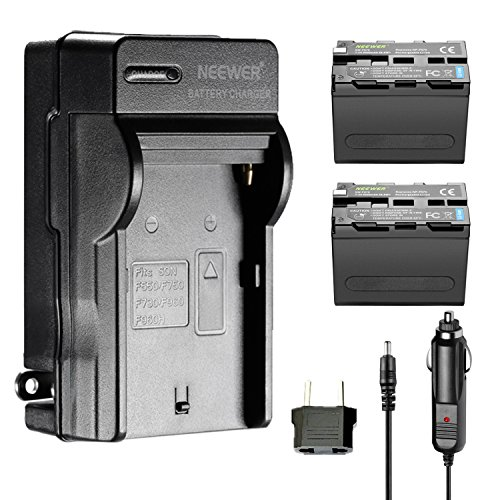 Battery Charger AC Adapter for Sony NP-F960 NP-F970 NP-F770 NP-F550 - 1