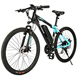 Best Electric Bicycles - ANCHEER Electric Mountain Bike 27.5'' /26'' Electric Bicycle Review