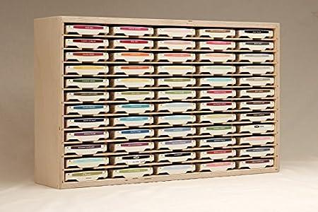 60 Ink Pad Holder By Stamp N Storage