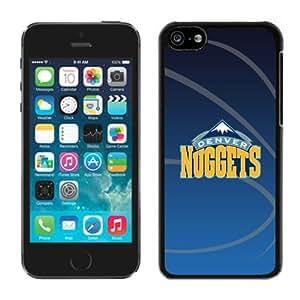 New DIY Designed Skin Case For iPhone 5C With Denver Nuggets 11 Black Phone Case
