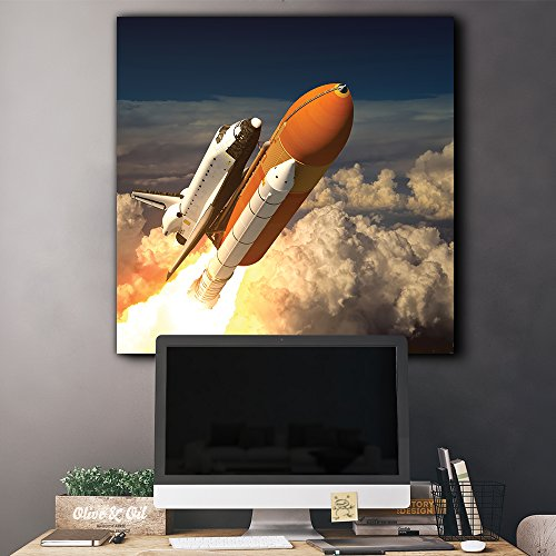 NASA's Rocketship Being Launched to Outer Space
