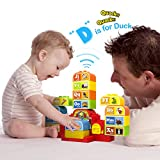 weofferwhatyouwant Talking ABC Blocks Alphabet Learning - Plastic Blocks create Audio from the School House. For 2 Years and Up
