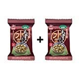 #10: [Value Pack] Amano Foods Freeze-dried Additive-free Mozuku Seaweed Soup 2Boxes Value Set(Total 20Packs)