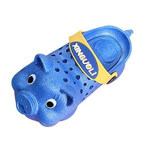 a7a1d847eb16d9 Toddler Summer Sandals Cute Pig Garden Clogs Water Shoes Anti-Slip Slide  Indoor Outdoor Beach