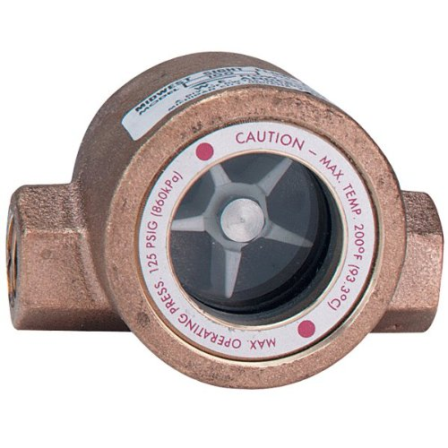 Sight Flow Indicator - W.E. Anderson® MIDWEST Sight Flow Indicator, SFI-100-3/8