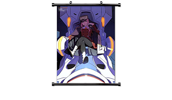 #4769,20x30cm//8x11inches for Darling in The FranXX Manga Anime Wall Poster Scroll Room Home Decoration Wall Art
