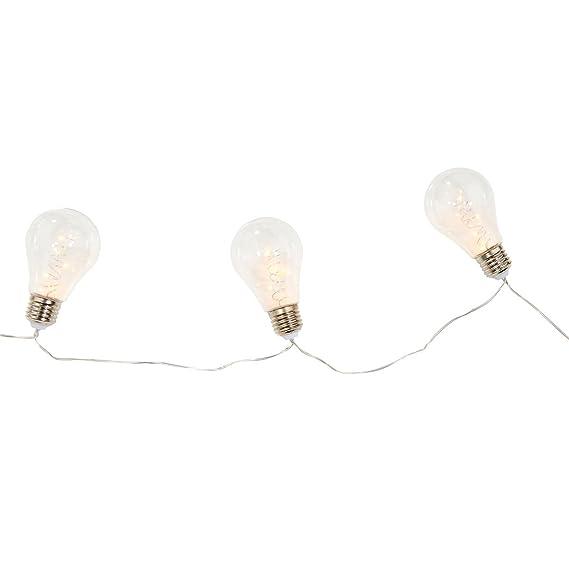 Butlers BRIGHT LIGHTS LED Glühbirnenkette 10 Lichter Beleuchtung ...