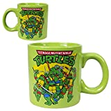 Teenage Mutant Ninja Turtles (TMNT Group Triangle) 20 Oz. Ceramic Coffee Mug (with Gift Box)