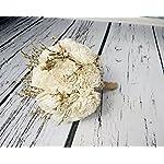 Medium-Ivory-Rustic-Sola-Flowers-Wedding-Bouquet