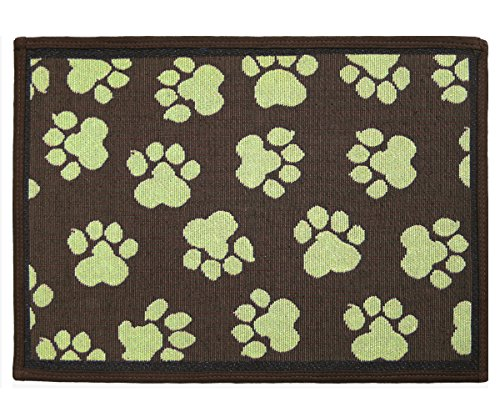 Park B. Smith PB Paws & Co. World Tapestry Indoor/Outdoor Pet Mat, Woodland/Green, 13 x (Park B Smith Rug)