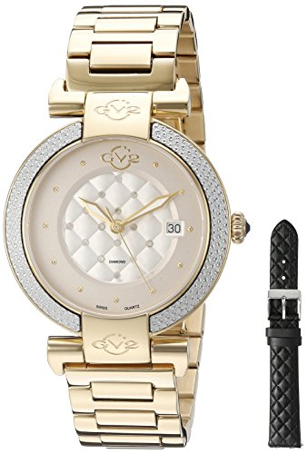 GV2-by-Gevril-Womens-1501-Berletta-Analog-Display-Swiss-Quartz-Gold-Watch