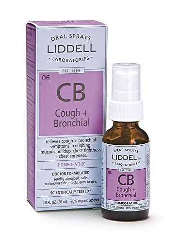 LIDDELL HOMEOPATHIC COUGH & BRONCHIAL, 1 OZ