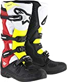 Alpinestars Tech 5 Boots-Black/Red/Yellow-8