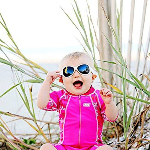 Protección Kidz sol Gafas UV Banz blanco de 6q485nfw