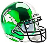 MICHIGAN STATE SPARTANS NCAA Schutt XP Authentic MINI Football Helmet MSU (CHROME)
