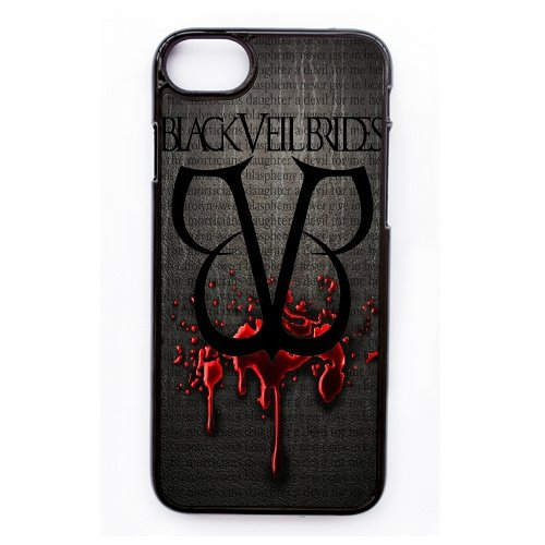 Coque,Apple Coque iphone 7 (4.7 pouce) Case Coque, Generic Noir Veil Brides Cover Case Cover for Coque iphone 7 (4.7 pouce) Noir Hard Plastic Phone Case Cover