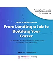 """#1 """"How to"""" Job Interview Guide: From Landing a Job to Building Your Career"""