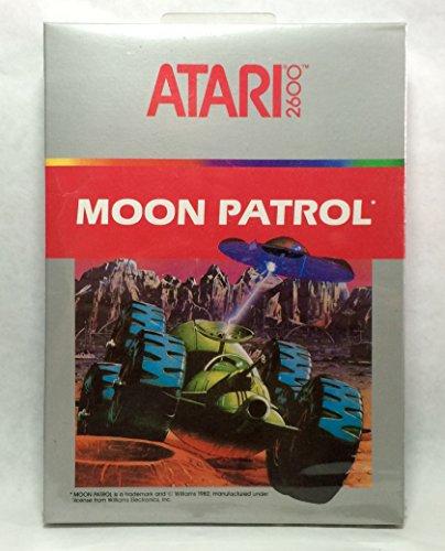 Patrol Atari 2600 Game - Moon Patrol (Atari 2600)
