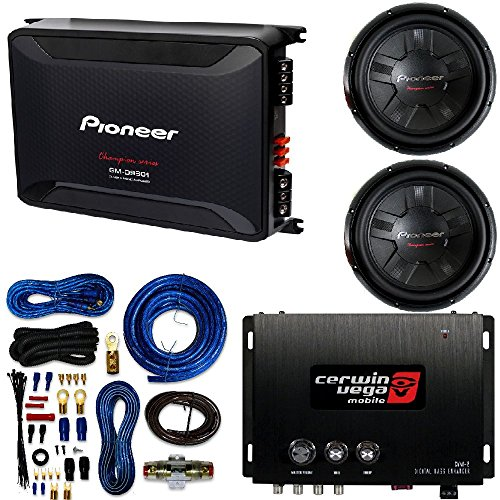 Pioneer 12- inch. 1400 Watt Dual Voice Coil DVC Subwoofer W/