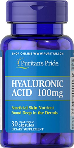 Puritans Pride Hyaluronic mg 30 Capsules product image