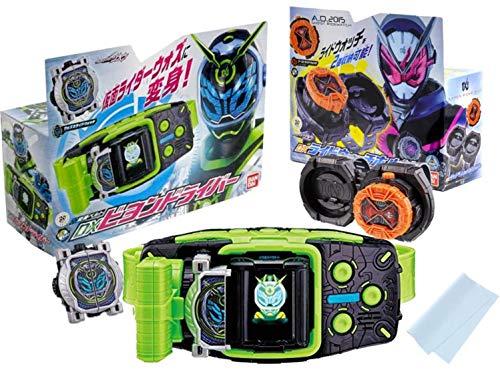 [해외]가장 ライダ?ジオウ ウォズ 변신 벨트 DX 카 드라이버 및 DX ウォズミライドウォッチ 및 DX 라 이드 워치 홀더 및 DX 고스트 라 이드 워치 & Kri`B 클리닝 크로스 총 5 종 세트 / Kamen Rider Giou Woz Transformation Belt DX Billon Driver & DX W...
