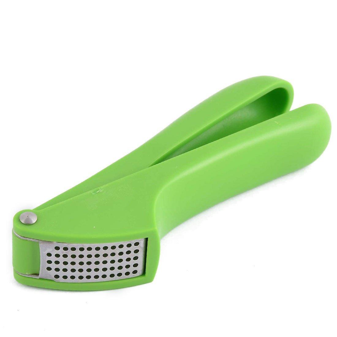 Amazon.com: eDealMax mango de plástico de cocina Inicio Gadget mano Squeeze Exprimidor jengibre prensa de ajo verde: Kitchen & Dining