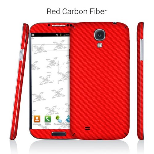 EXODecal Skin Vinyl Decal Skin For Samsung Galaxy S4 - Red