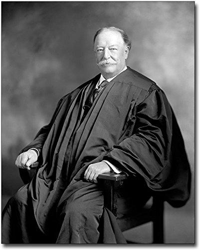 Chief Justice William Howard Taft Portrait 8x10 Silver Halide Photo Print - Justice Portrait