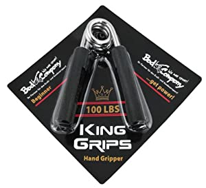 USA Heavy Sports Hand Grip Gripper King Grips Fingerhantel, Heavy Grip 100 LBS