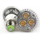 Lemonbest® Dimmable 9W PAR20 LED Bulb Light Warm White, E27 Standard Screw Base (2 pack)