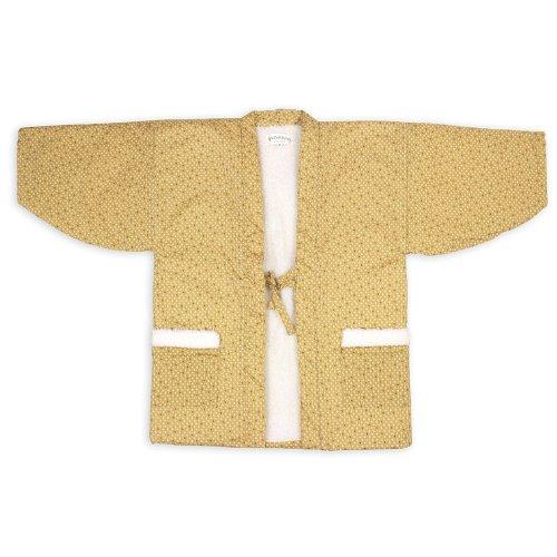 일본제(MADE IN JAPAN)동 레이디스 따스한 겉옷 반(半)고지 않겠 도트무늬 뒤 보아 수뒤 퀼트 8 한텐 여성용 일본 방한복