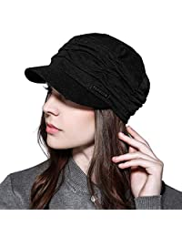 WETOO Women Soft Newsboy Caps Hat for Ladies Cotton Baseball Cap Outdoor Visor Hats