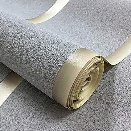 Strisce orizzontali Carta da parati per pareti 3D Pelle scamosciata Tessuto non tessuto Soggiorno moderno Divano TV Sfondo Carte da parati Decorazioni per la casa T Cachi