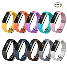 Fitbit Alta HR and Alta Bands, Greeninsync Watch Buckle Design Replacement Bands Accessory Adjustable Wristband for Fitbit Alta Smart Watch Strap w/ Ultrathin Fastener