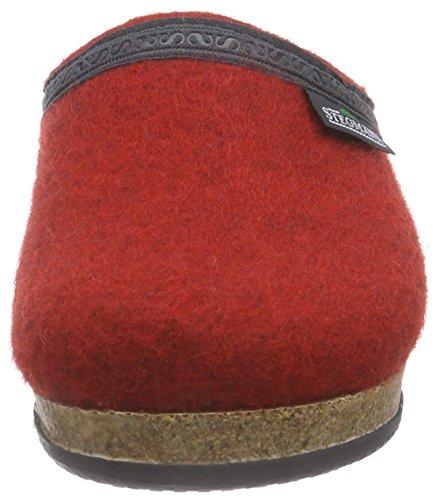 Dark Cherry Pantoufles Non Doublées Rouge 8820 Femme 109 Stegmann Rot 0Sqx88