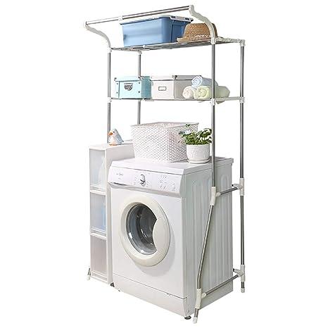 Estante de la lavadora Estructura metálica de acero ...