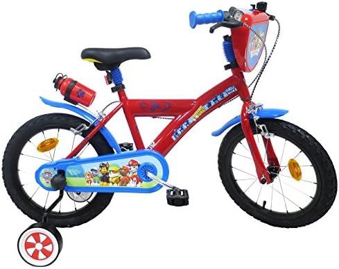Paw Patrol - Bicicleta Infantil de 16 Pulgadas, Multicolor: Amazon ...
