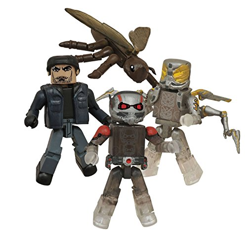 Marvel Ant-Man Minimates Box Set - San Diego Comic-Con 2015 Exclusive by Diamond Select