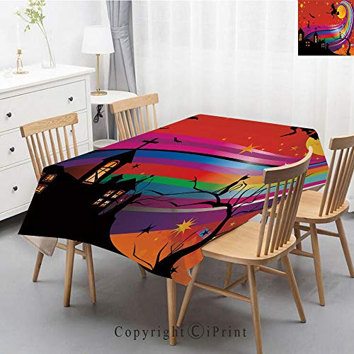 Printed Pattern Washable Table cloth Dinner Kitchen Home