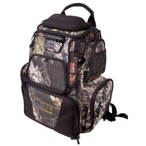Wild River by CLC Custom Leathercraft Tackle Tek Nomad Mossy Oak Camo LED Lighted Backpack, Fishing Bag, Hunting Backpack