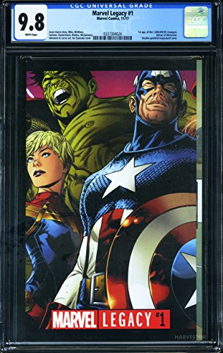 Marvel Legacy #1 - CERTIFIED CGC 9.8 - First Appearance of the 1,000,000 BC Avengers - Return of Wolverine